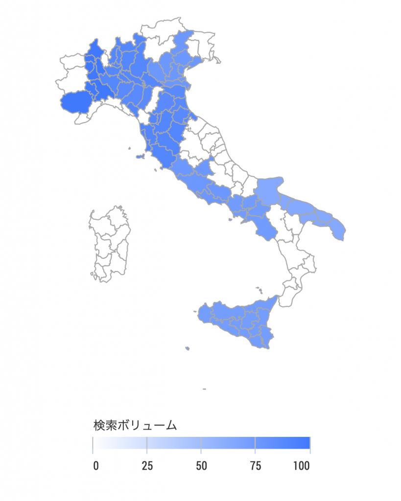 イタリア人 SEO調査(2012年3月〜2017年3月)