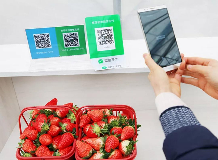 wechat payment at store