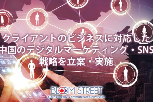 中国デジタルマーケティング