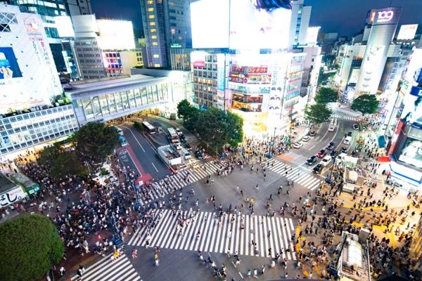 Business in Tokyo Shibuya